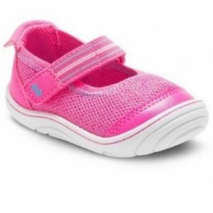 Stride Rite Surprize Pink Mary Jane Velcro Slip On